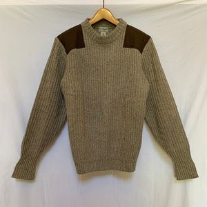 LL Bean Mens New Wool Sweater XL
